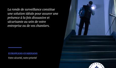 Ronde de surveillance par sécurité privée à Montbéliard